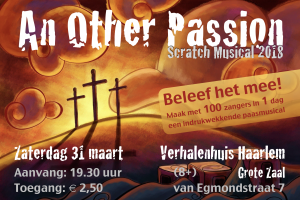 Doe mee aan 'Another Passion 2018'